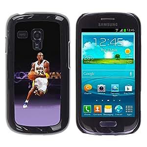 iKiki Tech / Estuche rígido - Laker 24 Baloncesto - Samsung Galaxy S3 MINI 8190