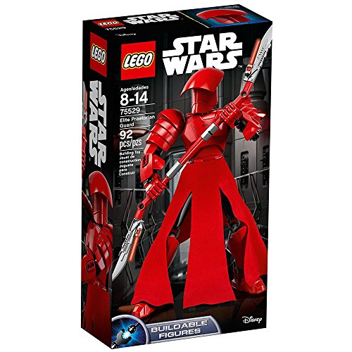 LEGO Star Wars Episode VIII Elite Praetorian Guard 75529 Building Kit (92 Piece)