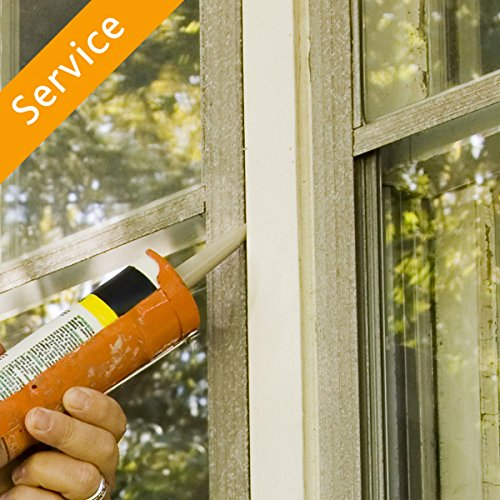 Window Caulking – 9-10 Windows