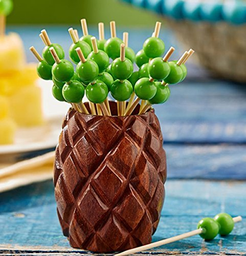 Two's Company Jupina Pineapple Toothpick Holder by Two's Company
