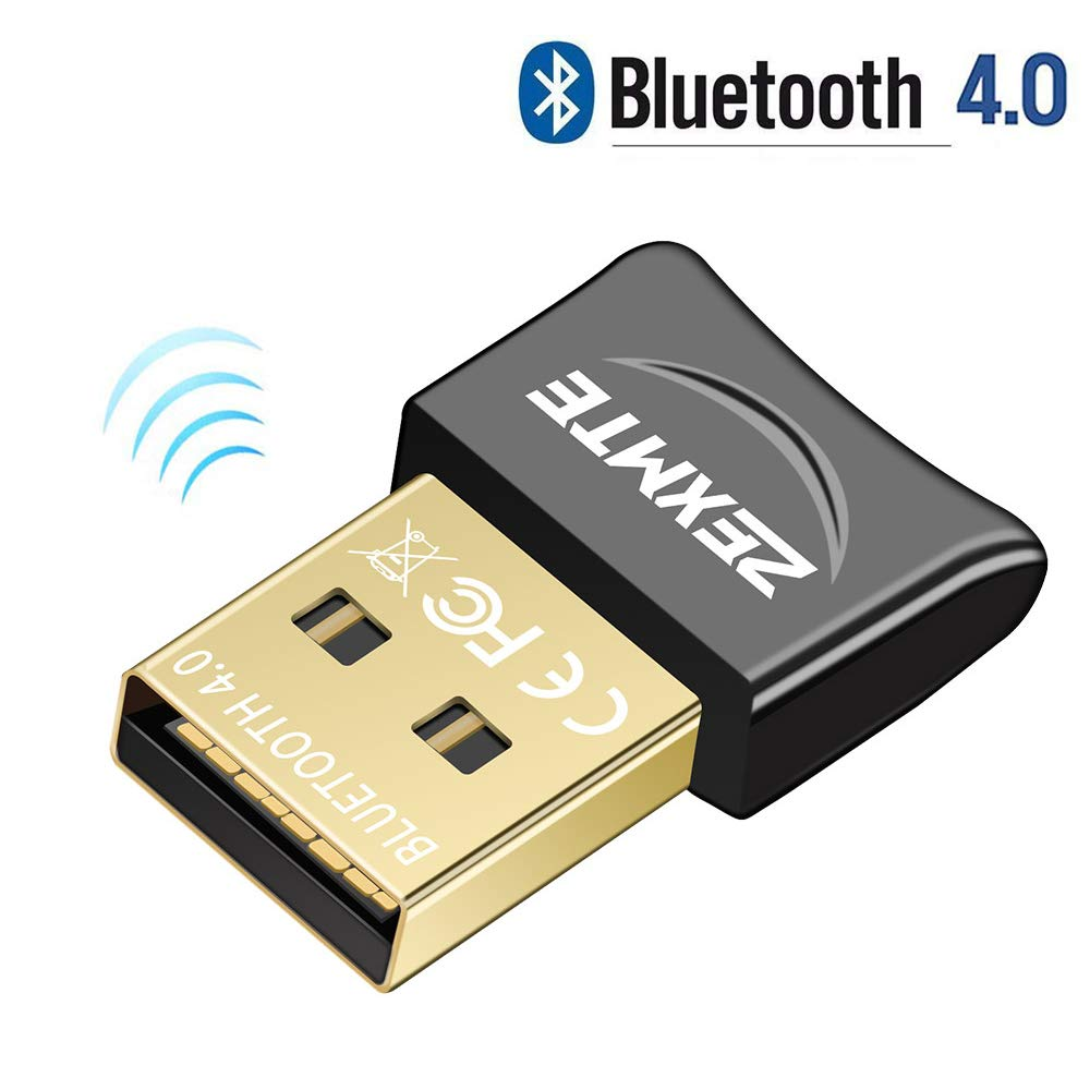 USB 4 0 Bluetooth Adapter for PC Bluetooth Dongle Receiver Wireless  Transfer Compatible with Stereo Headphones Desktop Windows 10,8,7,Vista,XP
