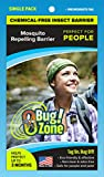 0Bug!Zone People Mosquito Barrier Tag, Single Pack