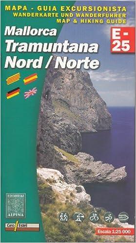 Mallorca Tramuntana - Norte de 1:25.000, el senderismo y el ...