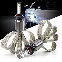 Green-L CREE Chip 9005 LED Headlight Bulbs Conversion Kit for Vehicle Indicators Lights 90W 9000LM 6000k (Pack of 2pcs)