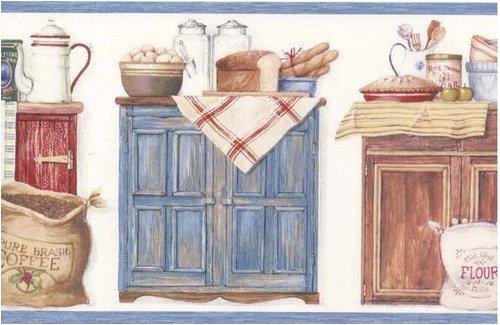 Amazon.com: Pillsbury Kitchen Coffee Beans Wallpaper Border: Home U0026 Kitchen