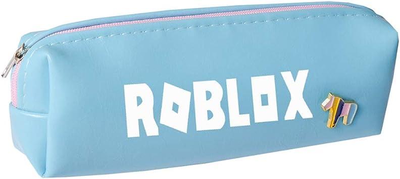 Roblox Estuche de Lápices Estuches de lápices Impresos Simples con una Bolsa con Cremallera Bolsa de Almacenamiento Bolsa de Almacenamiento Popular (Color : Blue, Size : 17 X 4.5cm): Amazon.es: Equipaje