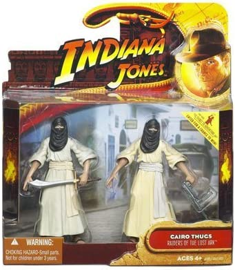 Indiana Jones Movie Deluxe Action Figure Cairo Thugs 2-Pack by Lucas Film Ltd.: Amazon.es: Juguetes y juegos