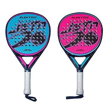 Pala Padel Just Ten Elektra Dual Kolors: Amazon.es: Deportes y aire libre