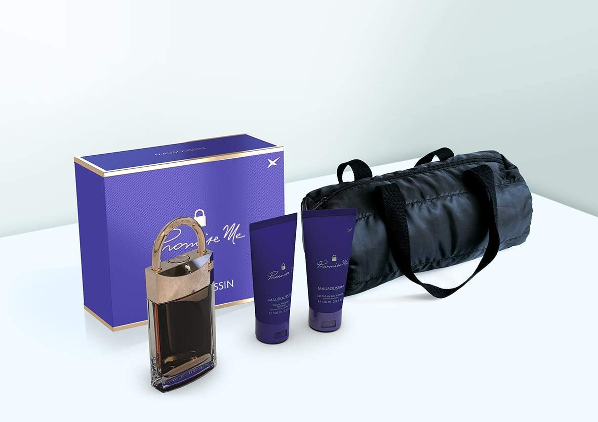 Mauboussin Prestige Box - Promise Me - Perfume y Chipre Moderno - 100ml