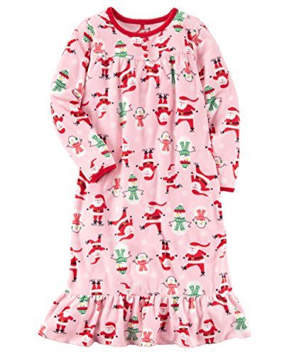 Girls Christmas Nightgown - 2