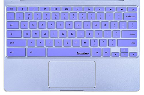 Samsung-Chromebook-Keyboard-Cover-Skin-CaseBuy-Keyboard-Silicone-Skin-for-Samsung-ARM-116-Chromebook-2-XE500C12-Chromebook-3-XE500C13-116-inch-Chromebook-Purple