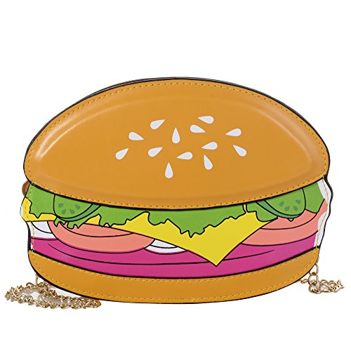 (Women's PU Cartoon Food Shape Handbag Casual Cross Body Handbag Purse)