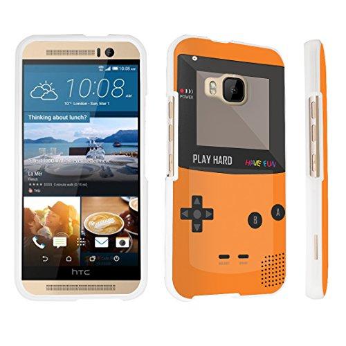 M9 (Released in 2015) Hard Case White - (Gameboy Orange) ()