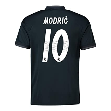 7364a487dde Image Unavailable. Image not available for. Color  2018-19 Real Madrid Away  Football Soccer T-Shirt Jersey (Luka Modric 10