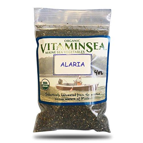 VITAMINSEA Organic Wakame Granulated Seaweed - 4 oz / 112 G Maine Coast Granules Seaweed - USDA & Vegan Certified - Kosher - Perfect for Keto - Raw - Wild Atlantic Ocean Sun Dried Sea Vegetables (WG4) (Vegetable Wakame Sea)