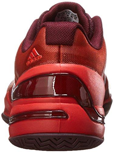 adidas Performance Herren CC Rally Comp Tennisschuh Fett Orange / Weiß / Kastanienbraun