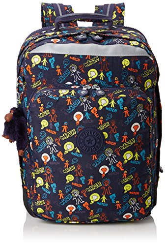 Multicolour Bright UP Blue Backpack Large Light True COLLEGE Kipling Blue qCUwRR