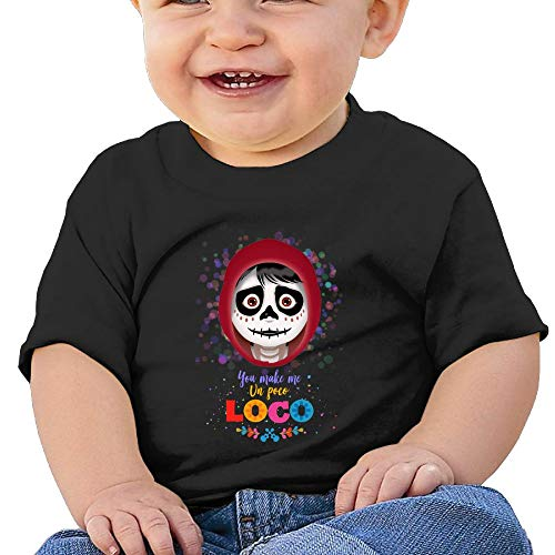 Price comparison product image Washed Cotton Baby Boy Girls Shirt Coco Cute Summer T Shirt Funny