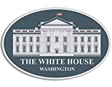 American Vinyl Oval THE WHITE HOUSE Seal Sticker (potus whitehouse trump obama)