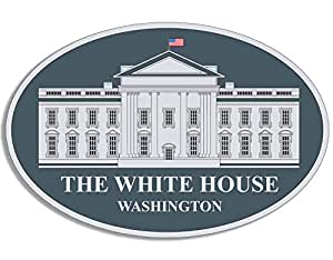 amazoncom oval the white house seal sticker potus With kitchen colors with white cabinets with trump bumper sticker free