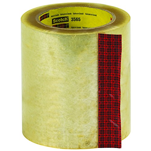 Scotch T9953565 Clear #3565 Label Protection Tape, 5