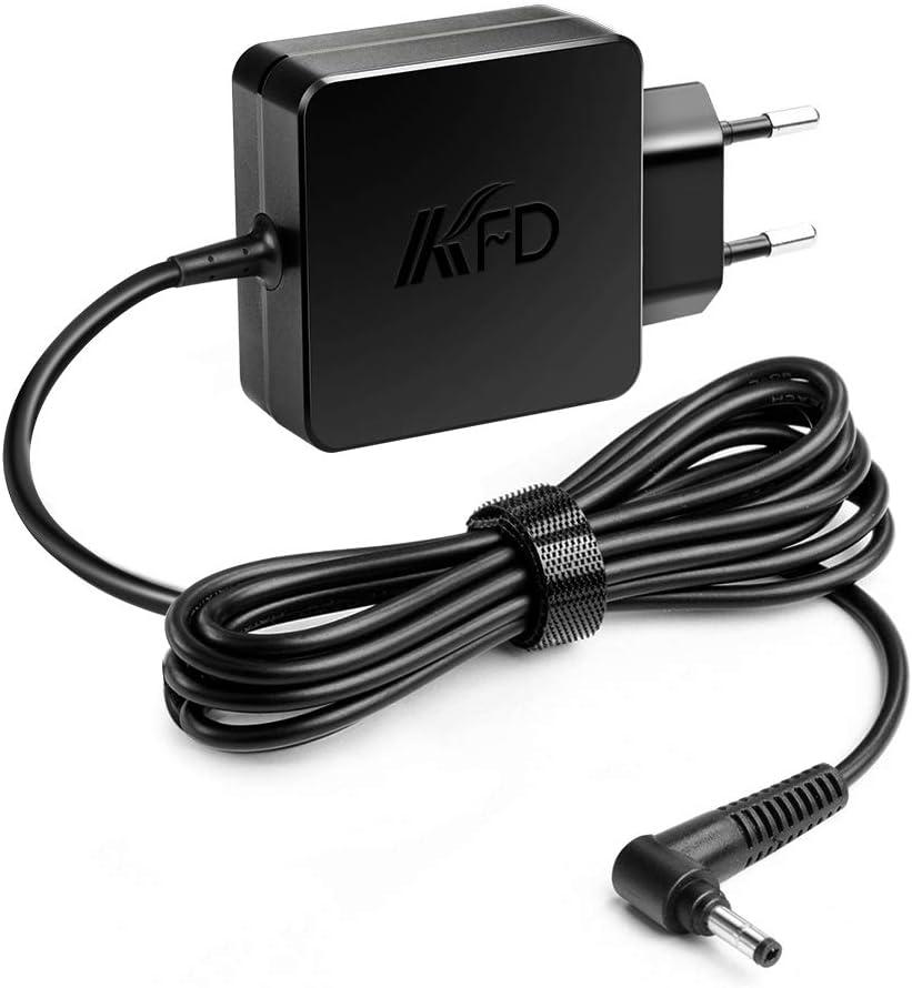 KFD - Cargador para ordenador portátil Lenovo IdeaPad 330 320 510s 520 520s 710 Miix 110-15ACL 110-15ISK 110-17ISK 110-17ACL 310-15IKB Thinkpad Yoga Chromebook (45 W, 20 V, 2,25 A)