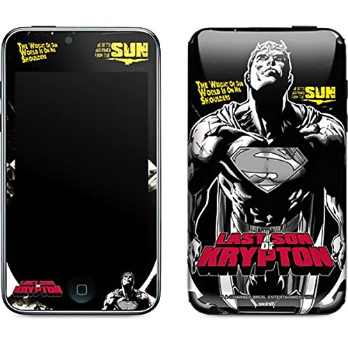 DC Comics Superman iPod Touch (2nd & 3rd Gen) Skin - Superman Last Son of Krypton Vinyl Decal Skin For Your iPod Touch (2nd & 3rd Gen) (The Last Son Of Krypton Part 3)