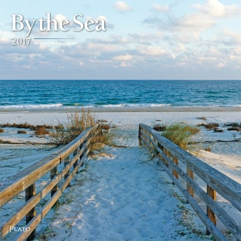 2017 By the Sea Calendar - 12 x 12 Wall Calendar