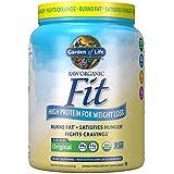 Garden of Life Organic Meal Replacement - Raw Organic Fit Powder, Original - High Protein for Weight Loss (28g) Plus Fiber, Probiotics & Svetol, Organic & Non-GMO Vegan Nutritional Shake, 10 Servings