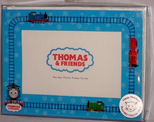 (Thomas the Tank Engine Holiday Photo Frame Cards)