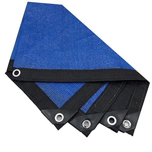 QINAIDI Blaues Anti-Uvsonnenschutz-Netz, Garten Sunblock Schatten-Tuch-Netz-Betriebsgewächshaus-Abdeckungs-Auto-Abdeckung 85% Shading Rate (Verfügbar In Einer Vielzahl Von Größen),4M8M