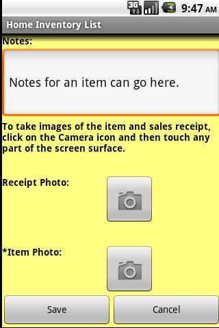 Home Inventory Organizer