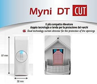 Sensor detector de cortina doble tecnología EEA Protección infissi MYNI DT CUT: Amazon.es: Industria, empresas y ciencia