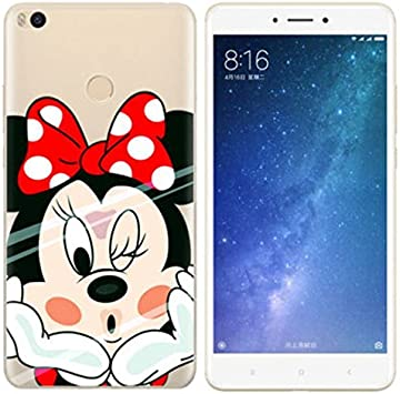 PREVOA Xiaomi Mi MAX 2 Funda - Colorful Silicona TPU Funda Case ...
