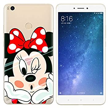 PREVOA Xiaomi Mi MAX 2 Funda - Colorful Silicona TPU Funda Case para Xiaomi Mi MAX 2 Smartphone - 7