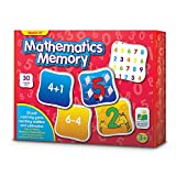 Match It! Mathematics Memory is a fun memory game that will challenge problem solving and develop memory skills of young children as they try to find a pair of matching cards that complete the equation. Bright, colorful illustrations help children le...