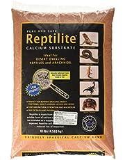 Carib Sea SCS00711 Reptiles Calcium Substrate Sand, 10-Pound, Desert Rose