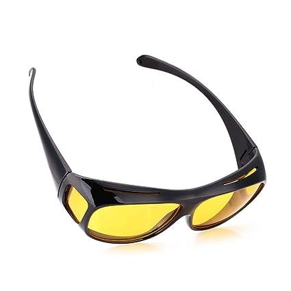 Amazon.com: Gafas de sol con lentes HD para visión nocturna ...