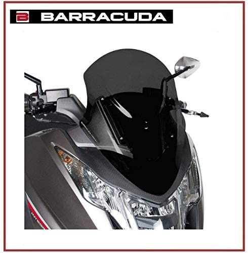 CUPOLINO BARRACUDA SEMITRASPARENTE FUME SCURO MOTO HONDA INTEGRA 700-750 2012-2015