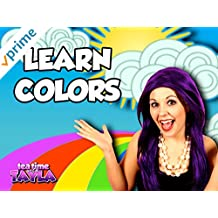Tea Time with Tayla - Learn Colors