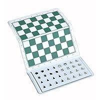 Juego de ajedrez de viaje magnético para chequera de ajedrez de EE. UU.