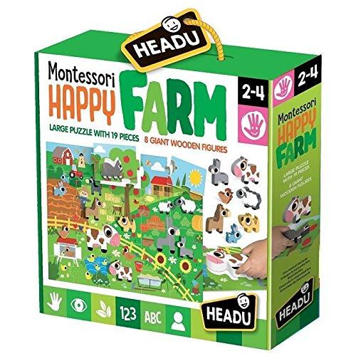 Headu it20102-Baby Silhouettes Montessori The Farm
