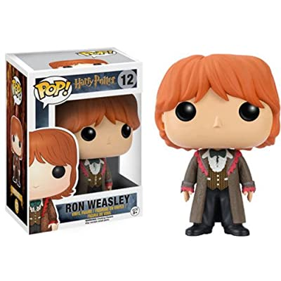 Funko POP Movies: Harry Potter Action Figure - Ron Weasley Yule Ball: Funko Pop! Movies:: Toys & Games