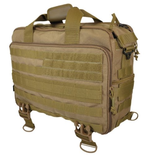 Hazard 4 MOD Laptop Messenger/Briefcase/Go-Bag with Molle, Coyote