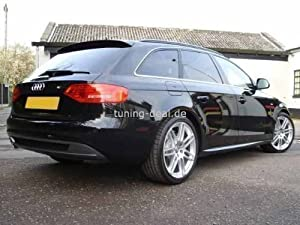 audi a4 avant b8 rear spoiler s line looks. Black Bedroom Furniture Sets. Home Design Ideas