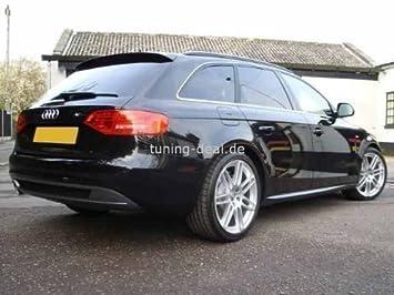 Audi A4 Avant B8 Rear Spoiler S Line Looks Amazon Co Uk Car