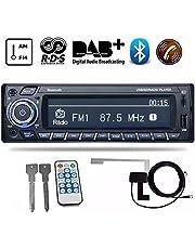 PolarLander DAB Receiver Car Radio Stereo Autoradio Support AM FM RDS Bluetooth USB SD with DAB Antenna