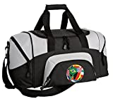 SMALL World Cup Fan Duffel Bag Soccer Gym Bags or Suitcase