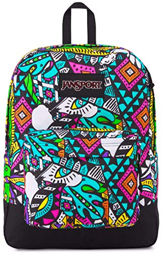 JanSport Unisex Black Label Superbreak Back Pack Quest Festival One Size