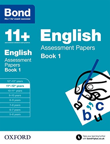 (Bond 11+: English: Assessment Papers Book)